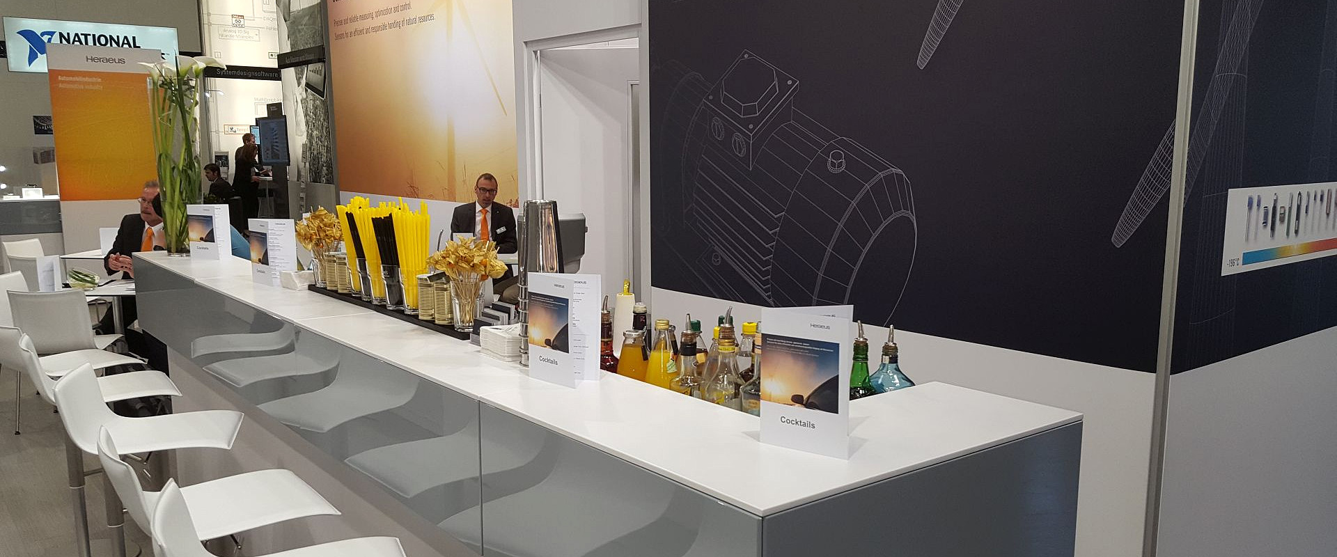 Cocktailbar Messe München 2016