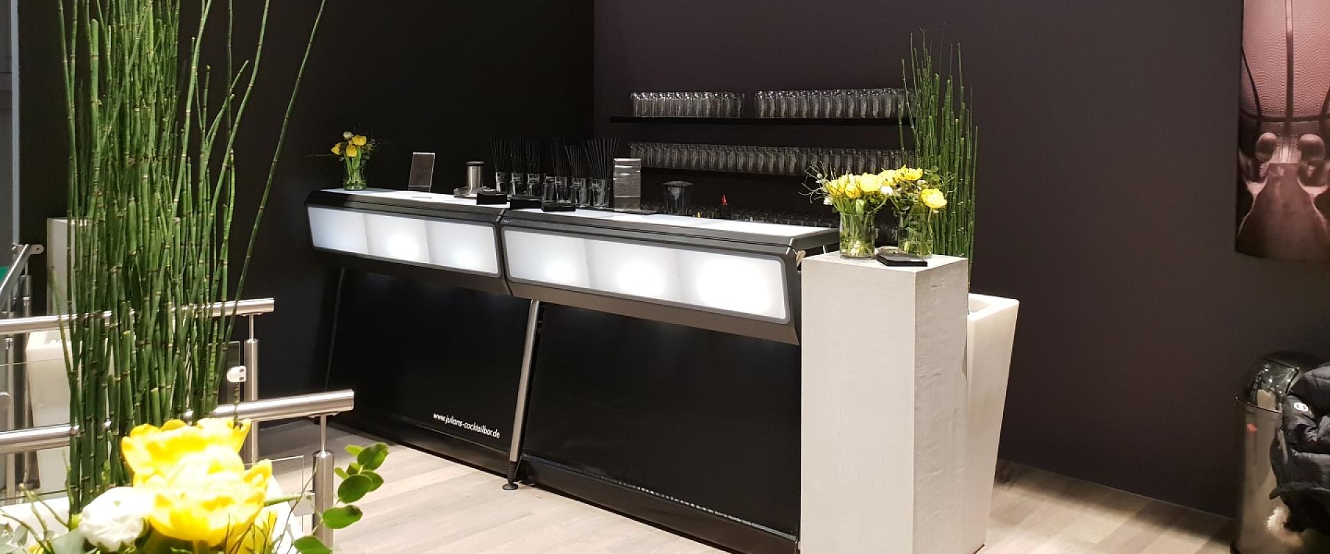 Black Line Cocktailbar für ihr Event buchen