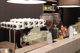 Barista Kaffeebar auf der Ambiente
