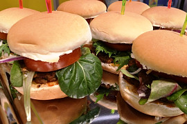 Finger Food mit ganz viel Liebe..... Mini Burger
