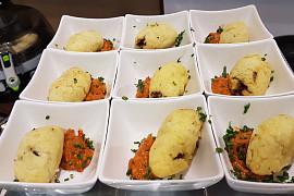 Kibbeh Vegetarisch mit Linsen gefüllt